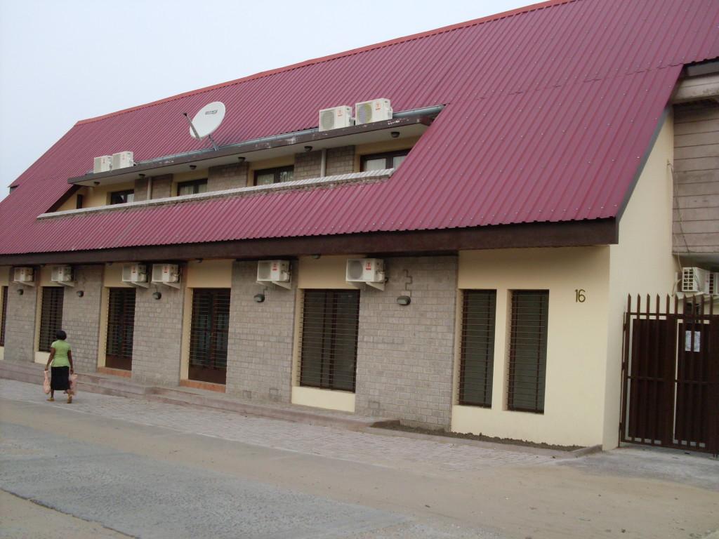 Le bureau de GLEN à Kinshasa